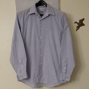 062 Men's Van Heusen Long Sleeve Shirt 16 34/35